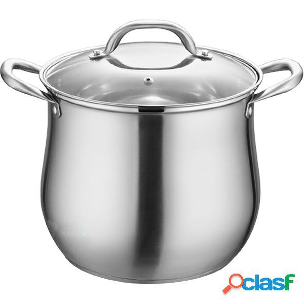 Pentola per zuppa in acciaio inossidabile da cucina Pentola