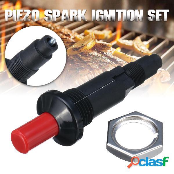 Piezo Spark Set accensione Pulsante cavo Accenditore Misura