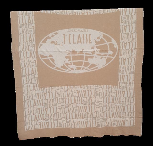 Plaid 130x190 lana emisfero alviero martini 1^ classe