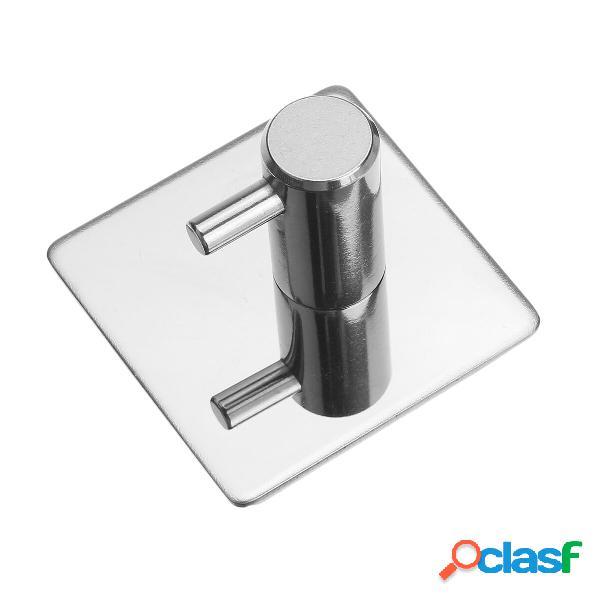 Porta abiti da bagno in acciaio inossidabile porta