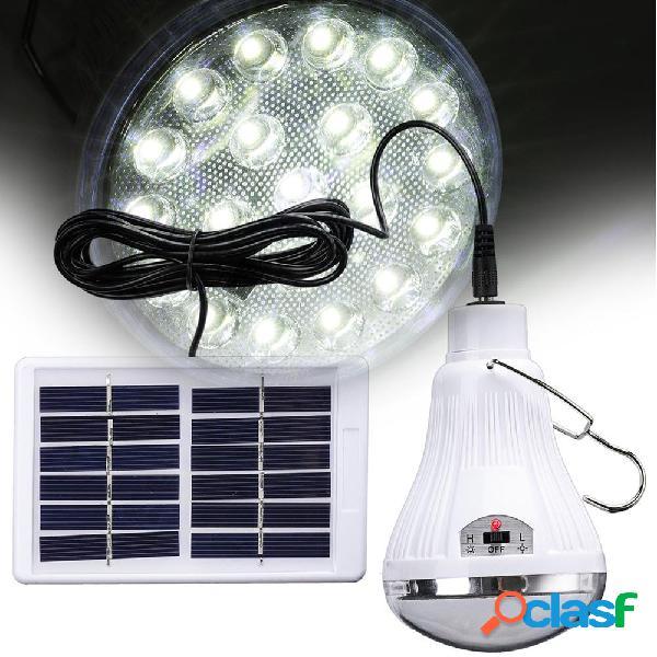 Portable solare Power remoto Control LED Tenda di emergenza