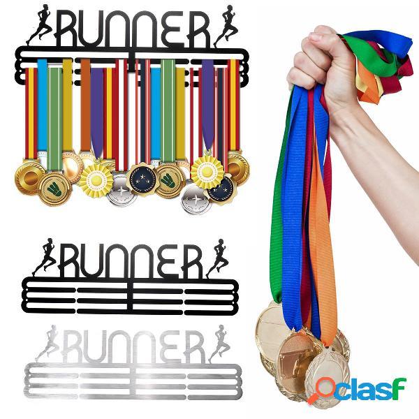 Portabottiglie personalizzato Runner Medal Holder