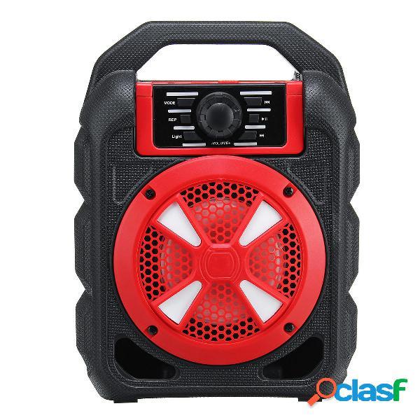 Portatile 9W Bluetooth Altoparlante wireless Colorful Stereo