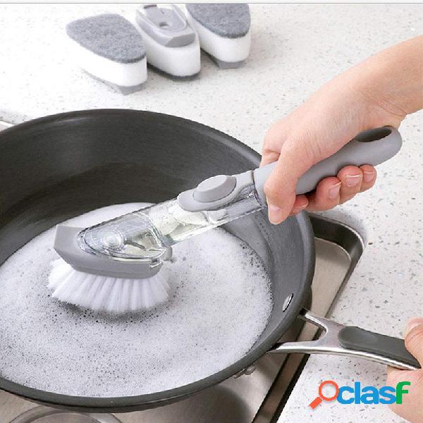 Pulizia automatica della lavastoviglie in spugna riempita di