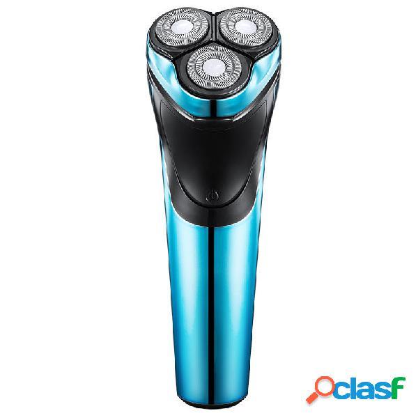 Rasoio di ricarica USB lavabile POVOS PW825 ELectric Rasoio