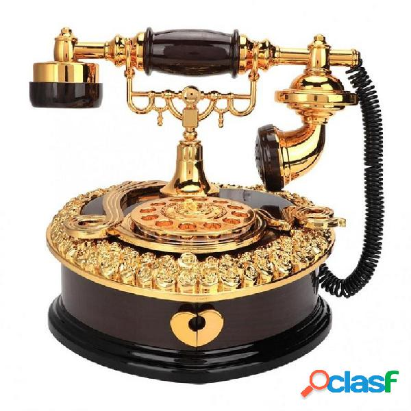 Retro Cuore Giocattolo a forma di telefono a forma di