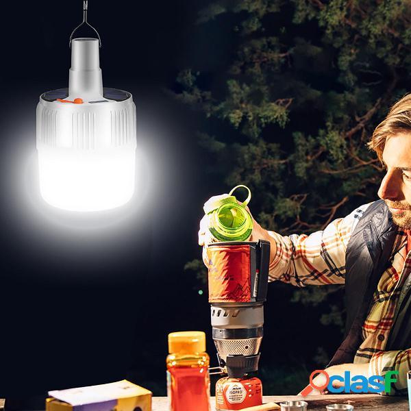 Ricaricabile 5 modalità solare Lampada di emergenza