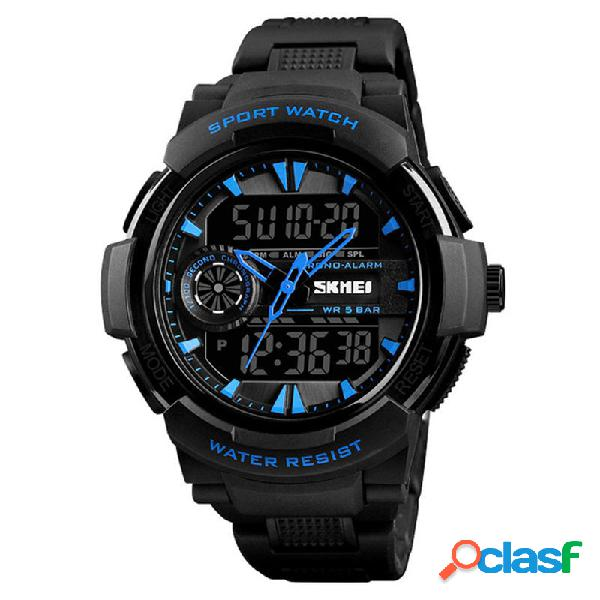 SKMEI 1320 Dual Display Digitale Watch Men Cronografo Alarm