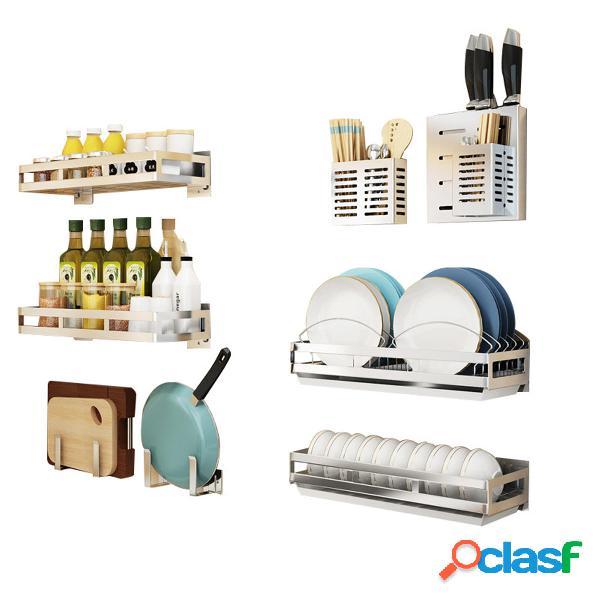 Scaffale per mensole Organizzatore, portacoltelli per piatti