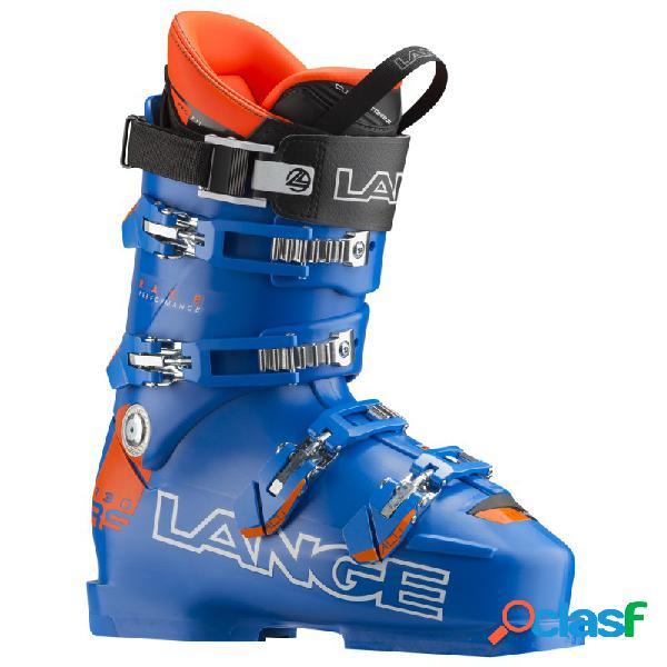 Scarponi sci Lange Rs 130 Wide (Colore: blu-arancio fluo,