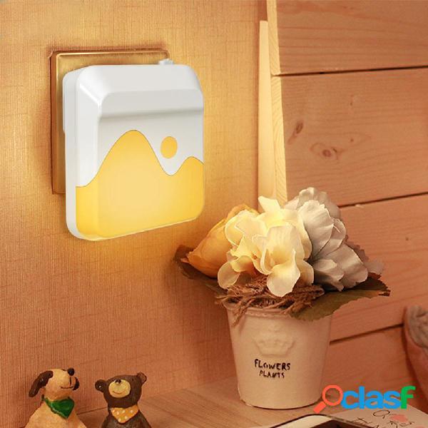 Sensore di luce plug-in dimmerabile LED Lampada da comodino