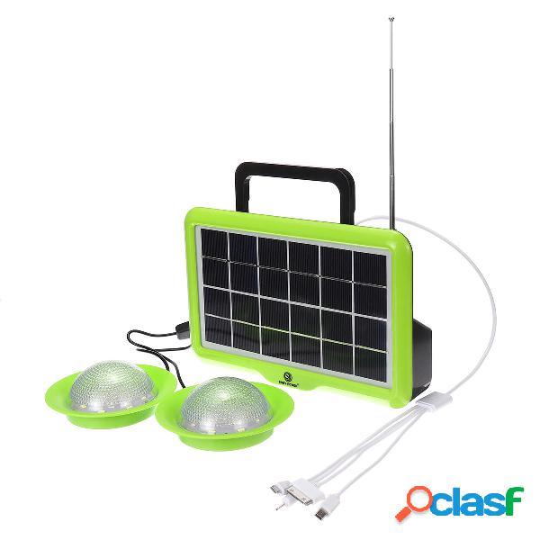 Sistema di illuminazione solare Luce di emergenza portatile