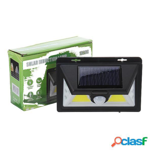 Solar COB LED Lampada da parete PIR Sensore di movimento