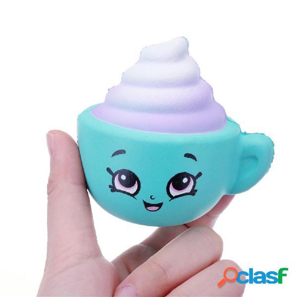 Squishy Cappuccino Cup Slow Rising Toy Cute Mini collezione