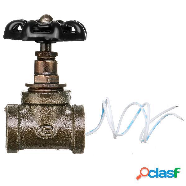 "Steampunk Industrial 1/2 ""Black Iron Pipe Rotary lampada"