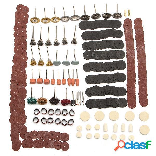 Strumento abrasivo kit accessori rotante per levigatura a