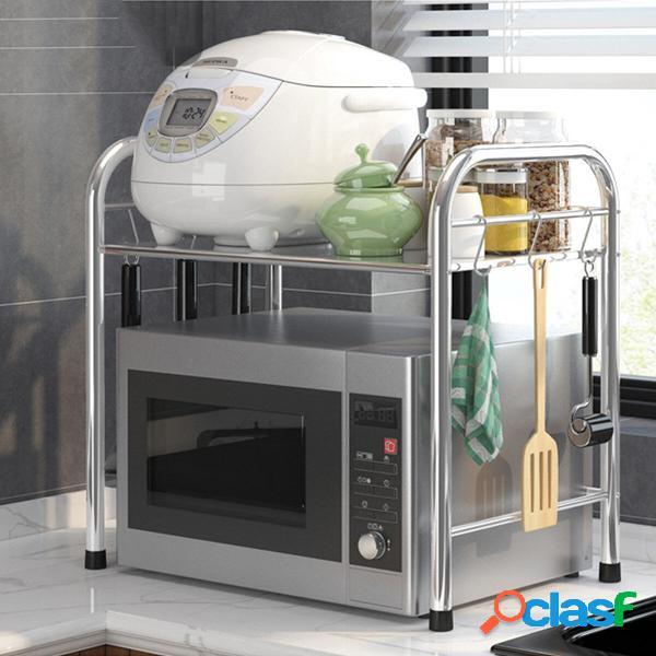 Supporto per ripiano da cucina in acciaio per forno a