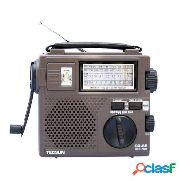 TECSUN GR-88 Ricevitore Radio Digitale Radio con Luce di