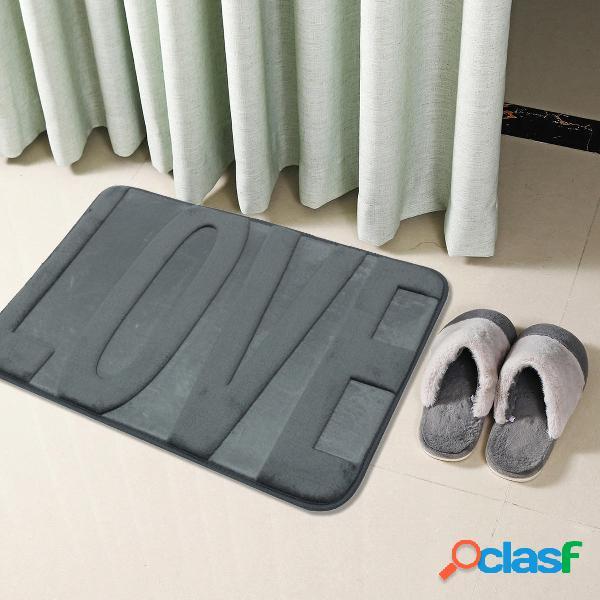 Tappeto per tappeti doccia antiscivolo assorbente per bagno