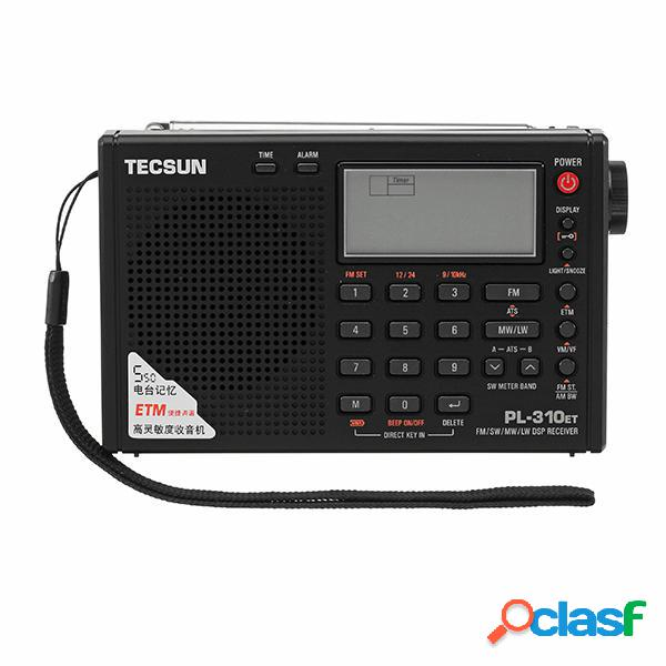 Tecsun PL-310ET Demodulatore digitale completo Banda FM AM