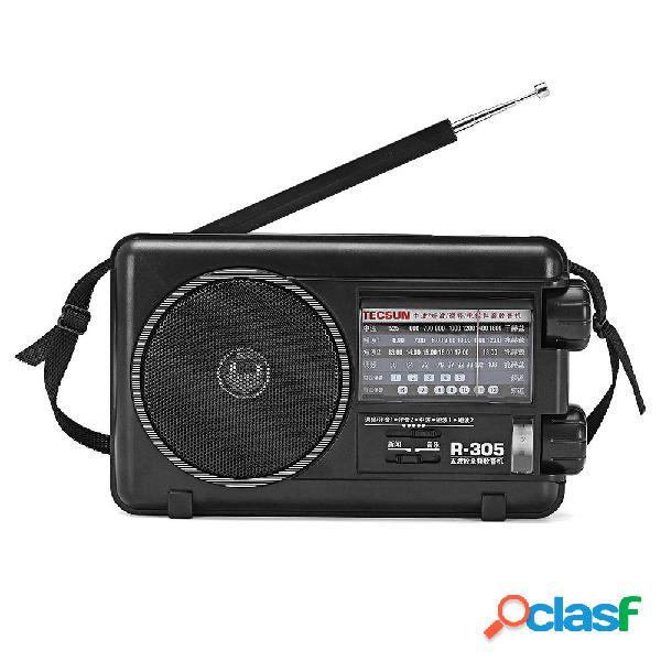 Tecsun R-305 Full Banda FM FM digitale TV digitale Bandas