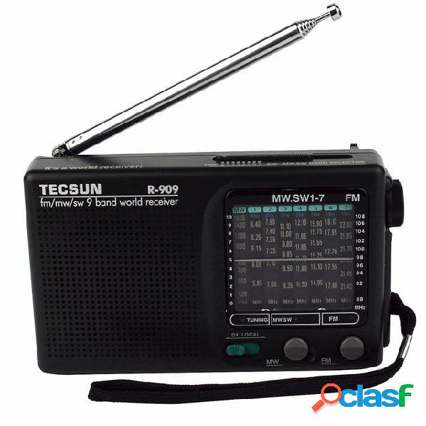 Tecsun R-909 FM AM SW a semiconduttore a semiconduttore a