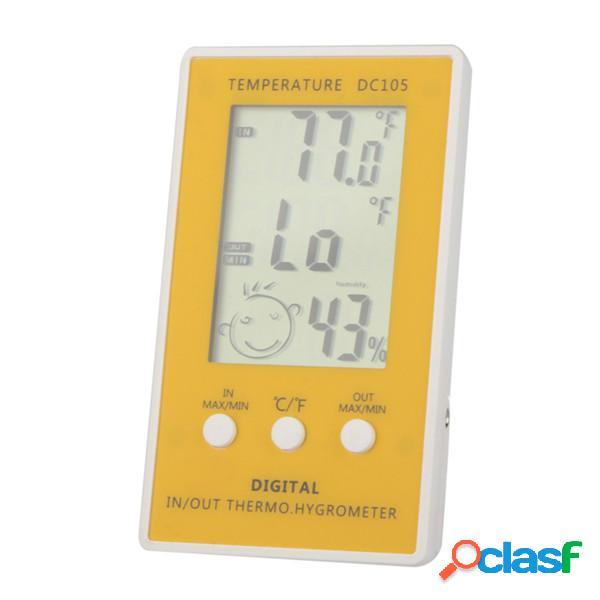 Termostato LCD Misuratore di temperatura igrometro digitale