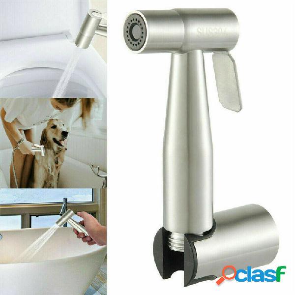 Toilette Shattaf portatile con soffione a spruzzo per bidet