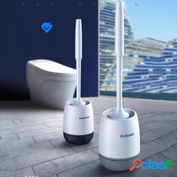 Toilette in silicone Spazzole Set per la pulizia del bagno