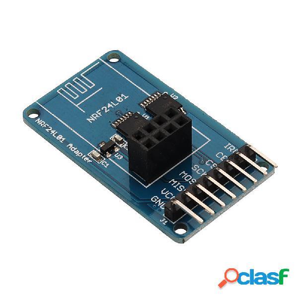 Transceiver wireless 2.4GHz NRF24L01 Modulo adattatore 3.3V
