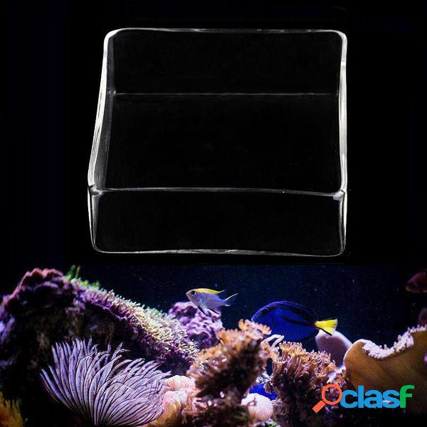 Trasparente Acquario Serbatoio di pesce Gamberetti Cibo