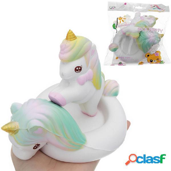 Unicorn Horse Squishy Toy 16 * 11.5CM Lento aumento con