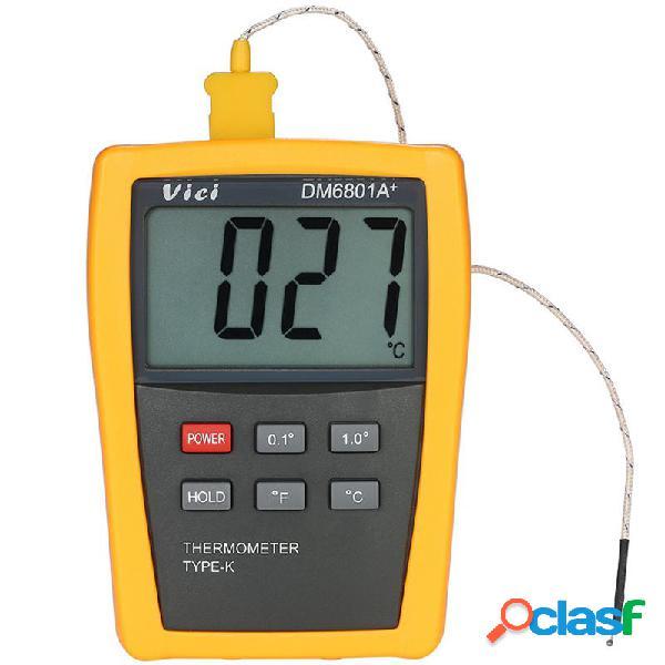 Vici DM6801A+ Mini LCD Digital Termometro Tester di misura