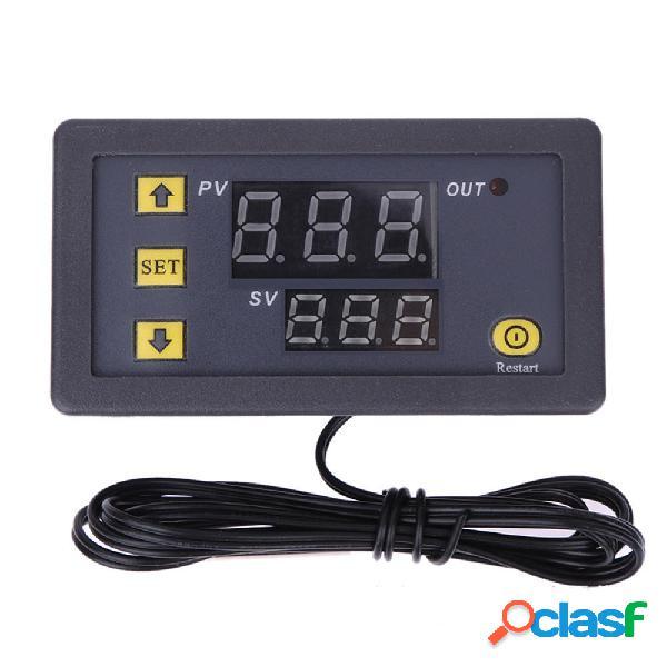 W3230 AC 110 V-220 V DC 12V Termostato digitale Termometro