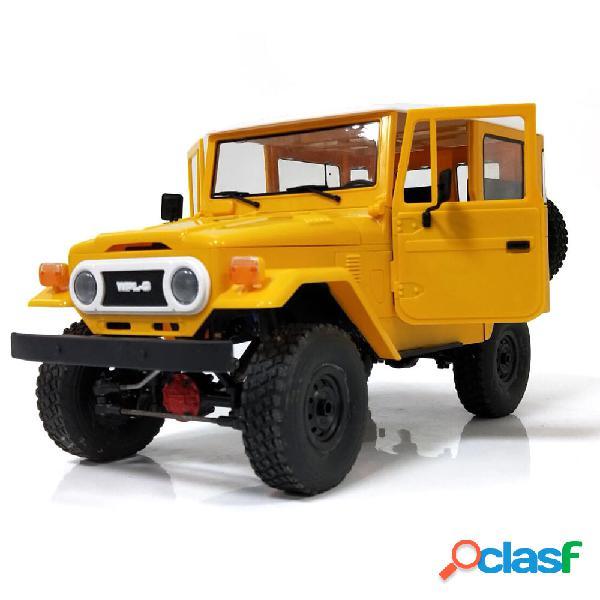 WPL C34 1/16 RTR 4WD 2.4G camion cingolato fuoristrada auto