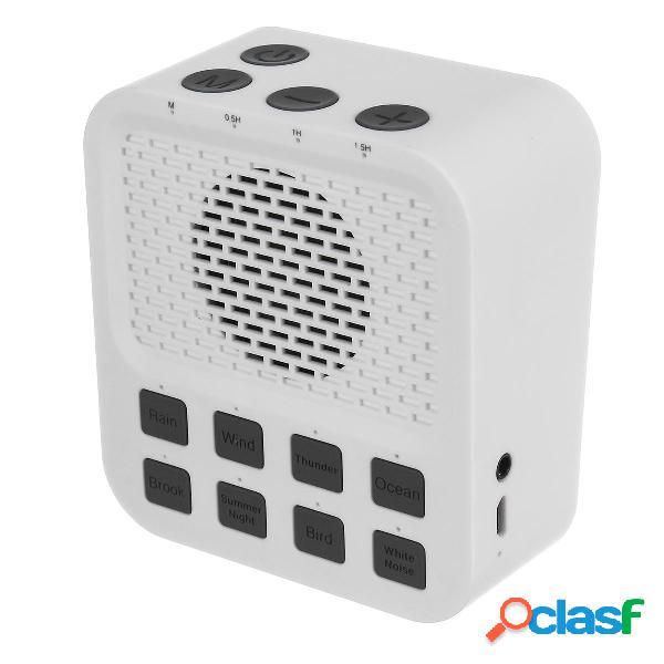 Wireless Mini White Sound Sound Machine con 8 Timer