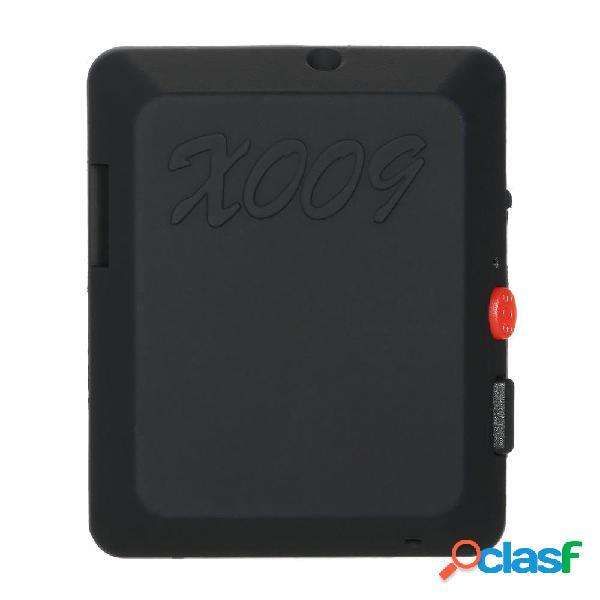 X009 mini macchina fotografica del monitor GSM