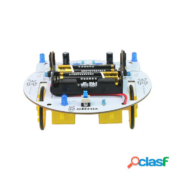 XIAO R MINI Cat DIY Smart RC Robot Car Tracking STEAM Kit