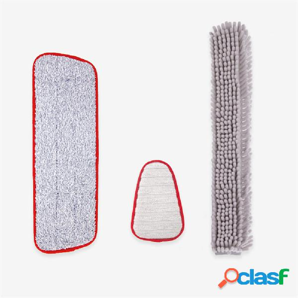 YIJIE 2 set di pulizia in microfibra Pennello kit di