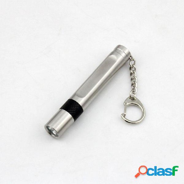 Youpard XPE Q5 600LM mini torcia tattica in acciaio inox LED