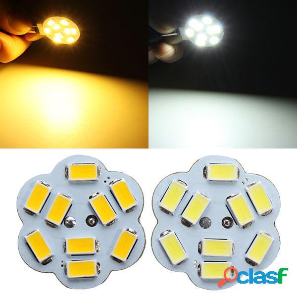 g4 2w bianco / bianco caldo 9 SMD 5730 LED lampada lampadina