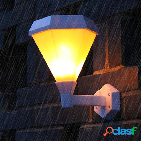solare Power 51 LED Flame Wall Light Impermeabile Outdoor