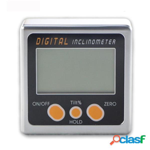 0-360 ° Inclinometro digitale Mini Bevel Scatola Strumento