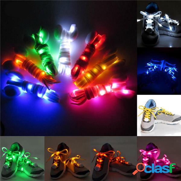 1 paio Nylon LED Lampeggiante Lampadina Lucida