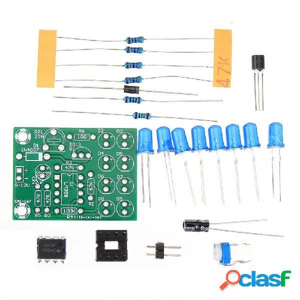 10Pcs LM358 Kit di produzione di luce respiratoria Parti di