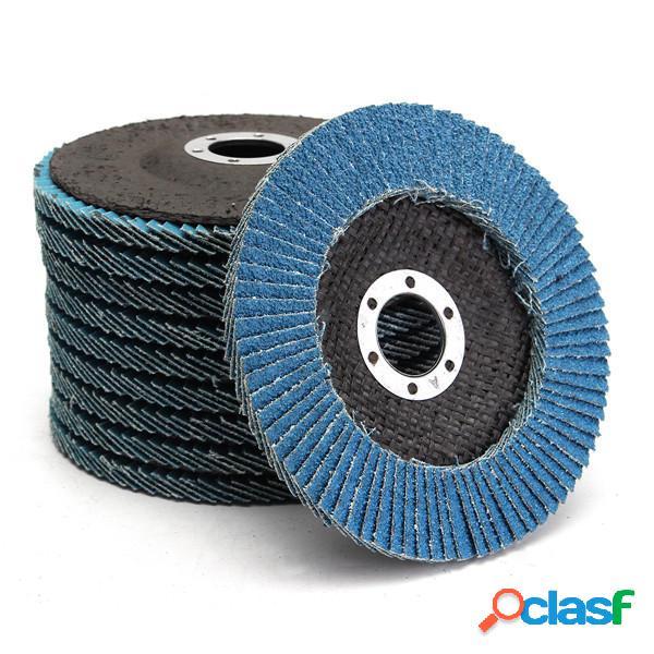 10pcs 5 pollici 40/60/80/120 granulosità Flap disco