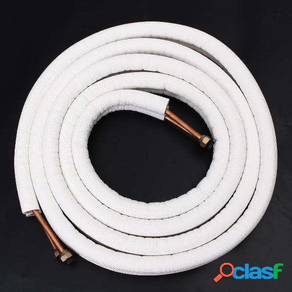 1/2 / 4m coibentato tubo Rame tubo 1/4 3/8 aria condizionata