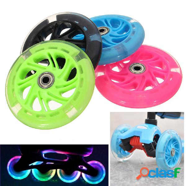 120mm LED Flash Light Up Wheels per pattini in linea scooter