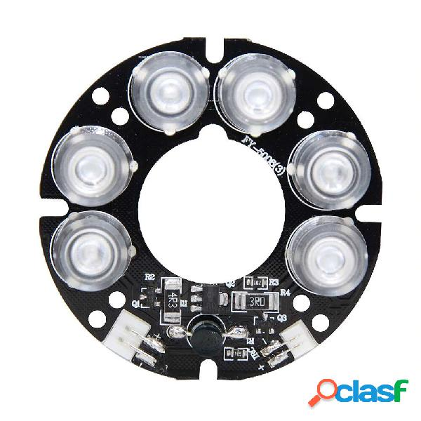 20 pz bianco 6 * array LED IR LED lavagna luminosa a