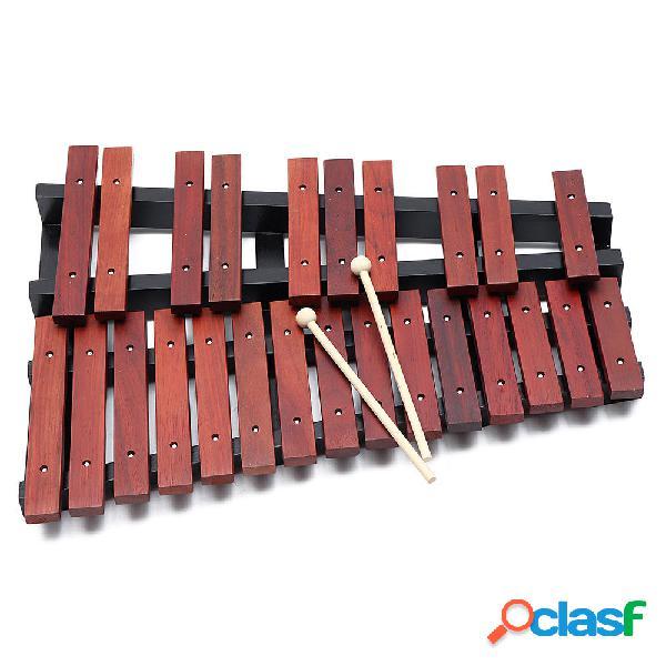 25 Note Regalo educativo a percussione in legno xilofono con